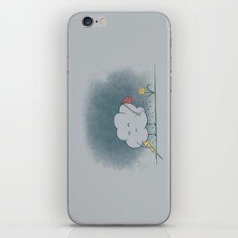 I wandered lonely as a cloud.  iPhone Skin