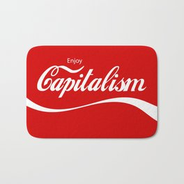 Enjoy Capitalism Bath Mat