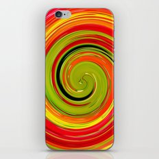 espiral iPhone & iPod Skin