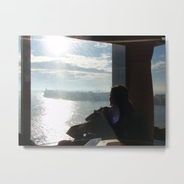 Yearning for the Sea Metal Print