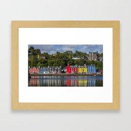 Colourful Tobermory Framed Art Print
