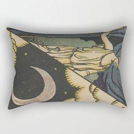 Lune Moon Rectangular Pillow