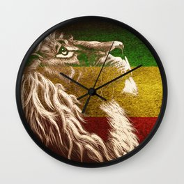 King Of Judah Wall Clock