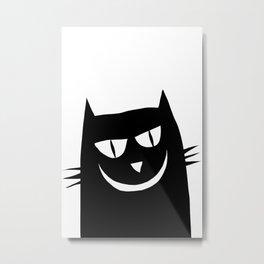 Evil Kat Metal Print