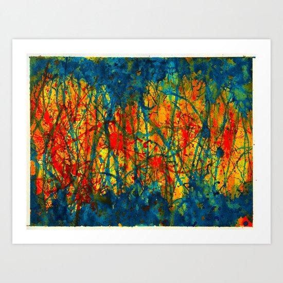Separation Anxiety Art Print