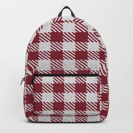 Antique Ruby Bufalo Plaid Backpack