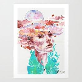 I Came to Earth to Haunt You Art Print