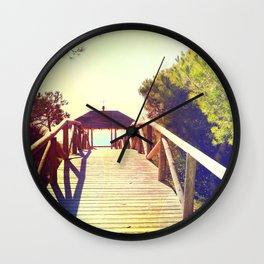 rota spain beach 13 Wall Clock