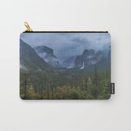 Yosemite Tunnel View Carry-All Pouch