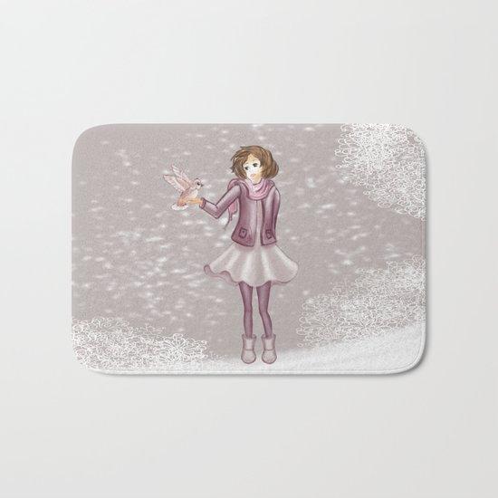 Snow Girl Bath Mat