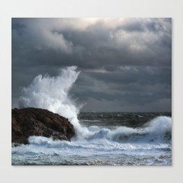 Explosive Seas Canvas Print