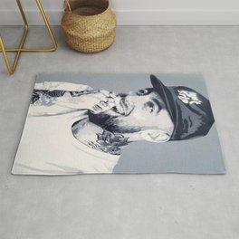 Mac Miller Spray Painting Rug