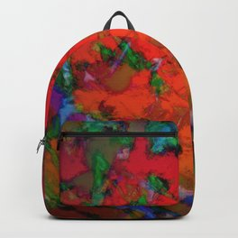 The inevitable red step Backpack