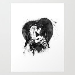 Love to the bones Art Print