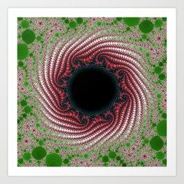Fractal Porthole Art Print