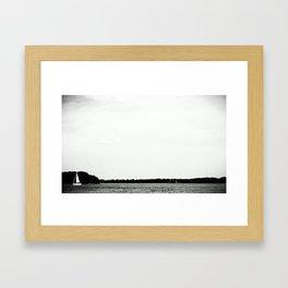 SHIP. Framed Art Print