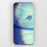 jelly fish iPhone & iPod Skins featuring Jelly Fish by Amee Cherie Piek