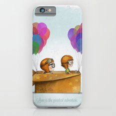 UP Pixar— Love is the greatest adventure  iPhone 6s Slim Case