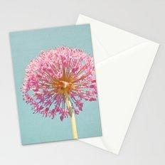 Pink Allium Stationery Cards