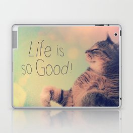 Dancing Kitty Cat Laptop & iPad Skin