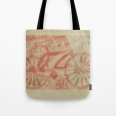 Seaside Bike Ride Tote Bag