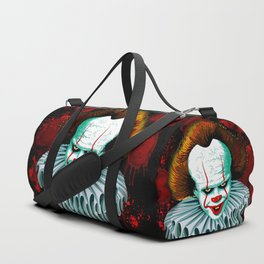 The Dancing Clown - Pennywise IT - Vector - Stephen King Character Duffle Bag