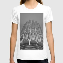 Marina City Tower Photo, Chicago, Architecture T-shirt