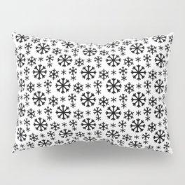 Black Snow Pillow Sham
