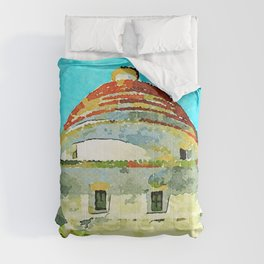 Convent building with dome Comforters