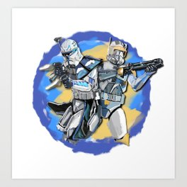 Rex&Cody Art Print