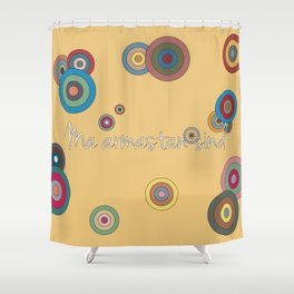 i love you in estonian Shower Curtain