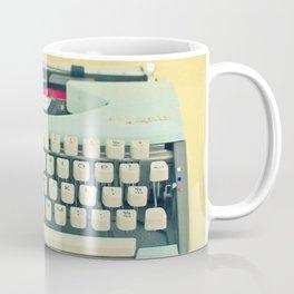The Typewriter Coffee Mug