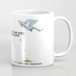 Confucius, the Toad and the Dove Coffee Mug