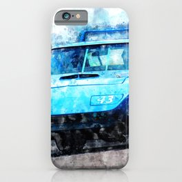 Richard Petty, Superbird iPhone Case