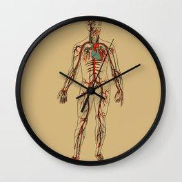 Circulatory System 2 Wall Clock