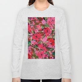 Wild Rose Garden Long Sleeve T-shirt
