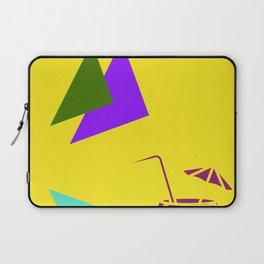 Insert Piña Colada here - Yellow Laptop Sleeve