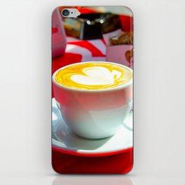 capuccino iPhone Skin
