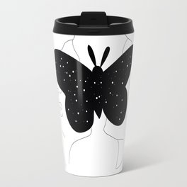 love and butterfly Travel Mug