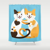 Lovecats Shower Curtain