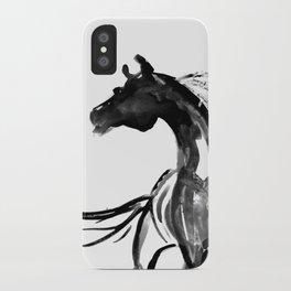Horse (Ink sketch) iPhone Case