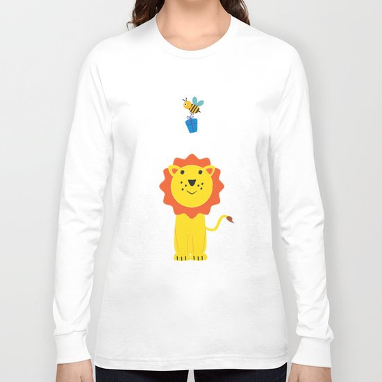 Lion and bee Long Sleeve T-shirt