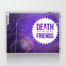Mortem et Omnibus Amicis Laptop & iPad Skin