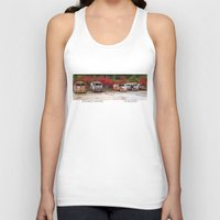 volkswagon Tank Tops featuring Retired Hippies by BWooley Photo