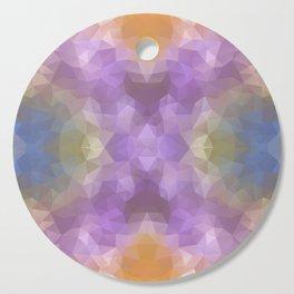 """Carnival time"" triangles design Cutting Board"