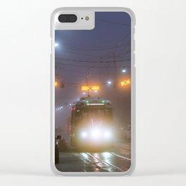 Winter Fog #2 Clear iPhone Case
