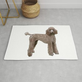 Royal Standard Poodle dog Rug