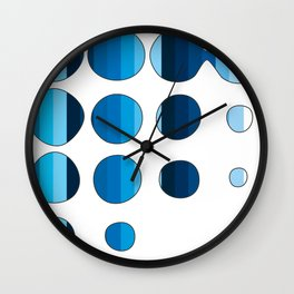 Spots and Stripes Wall Clock