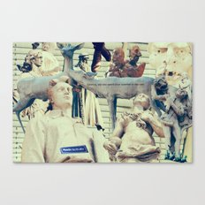 Come to me, I'll rest your soul Canvas Print