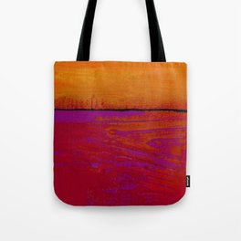 Square Abstract No. 8B by Kathy Morton Stanion Tote Bag